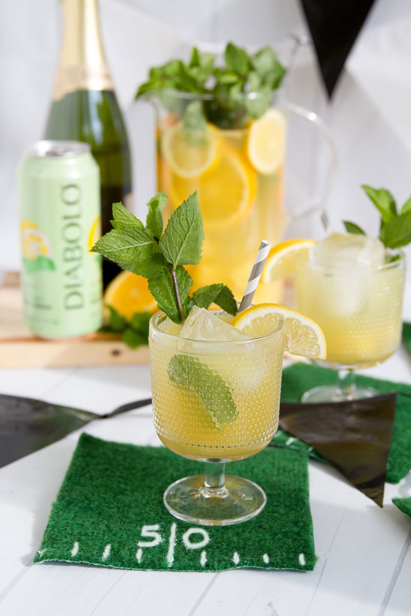 PINEAPPLE MINT PARTY PUNCH